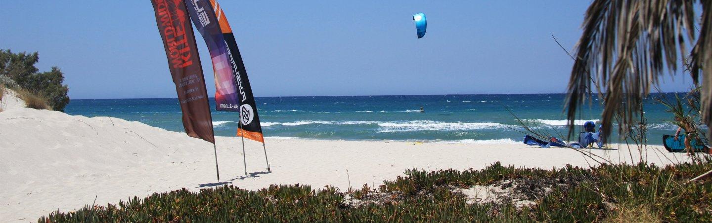 Kitesurfing Kos Mastichari, Greece, Griechenland