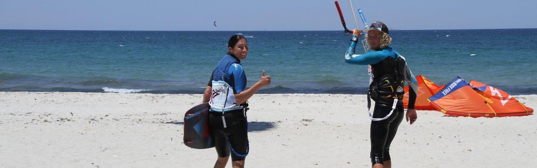 Kitesurfing kos lessons rental