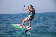 Hydro Foil Kitesurfing