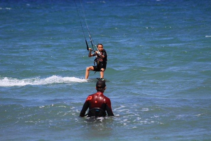 Kitesurfen für Kinder