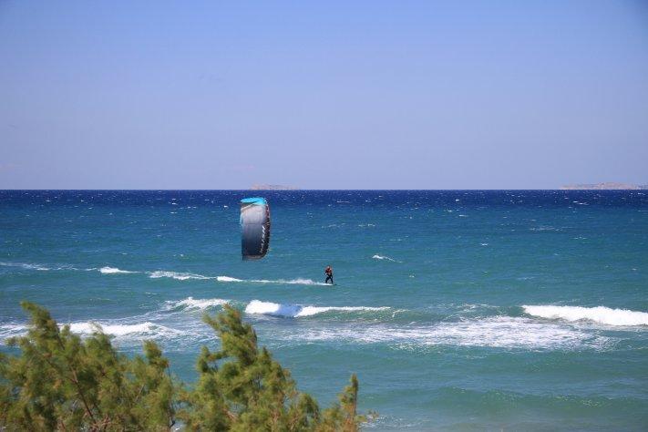 kitesurfen lernen Griechenland , kos