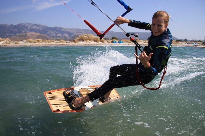 Kitesurfingkos, Greece Kiteschool Kiteunterricht Kitesurfen Kiteboarden