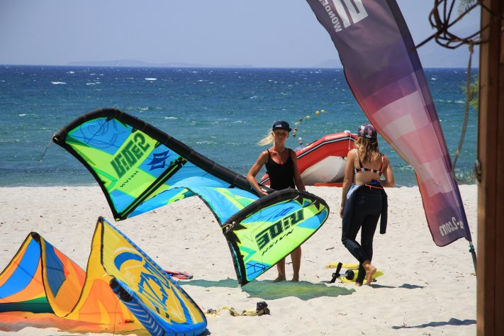 Kiten lernen Griechenland, Kos