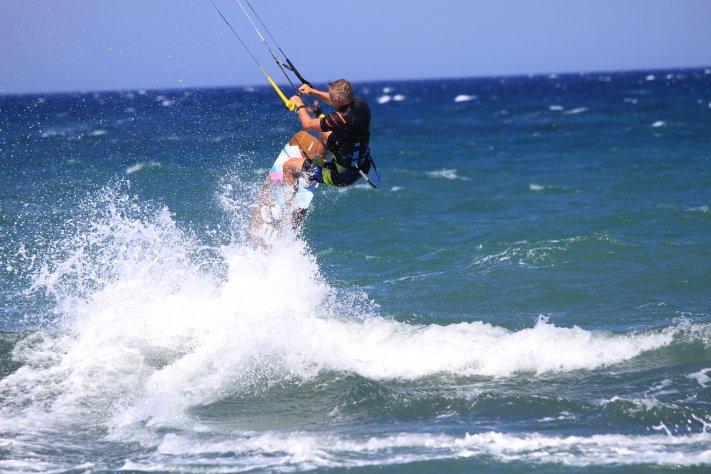 kitesurfing kos Griechenland Mastichari Marmari, Caravia Beach Hotel