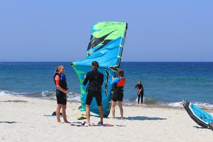 Kiten lernen Kos, Kitesurfing Kos