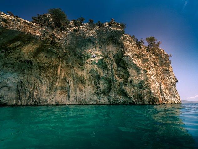 Klippenspringen Kalymnos