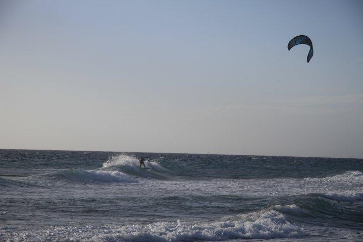 Wellen Kiten mit Kitesurfing Kos Mastichari