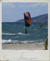 Kitesurfing in Marmari, Kos