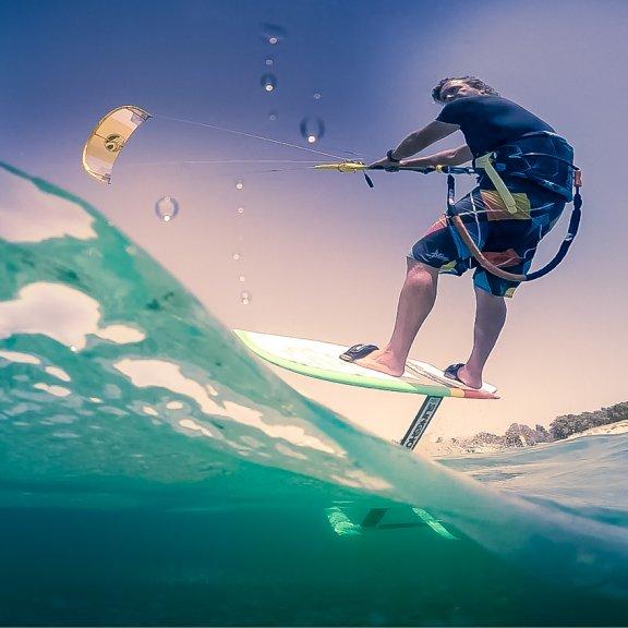 foil kitesurfing kos