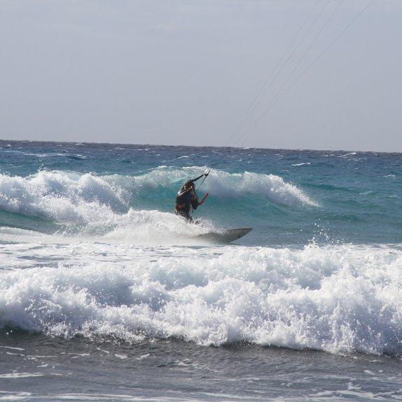 Kohilari Kitesurfing Kos Wave surfing
