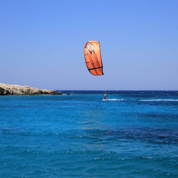 Kitesurfing in Kos