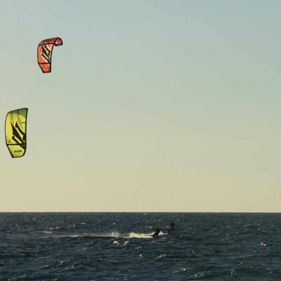 Idylisch Kitesurfen in Kos